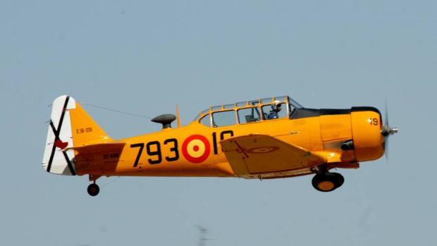 Una aeronave de la colección en pleno vuelo