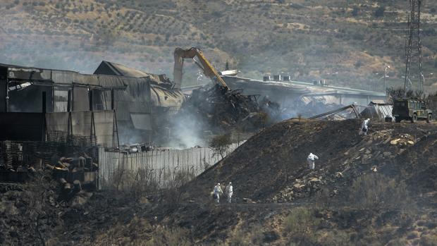 Panorámica de la zona afectada por el fuego