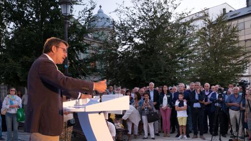 Acto de apertura de campaña de los populares gallegos en Lugo
