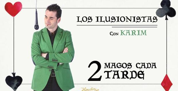 Cartel del espectáculo «Los Ilusionistas»