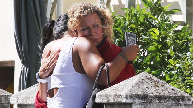 La madre de Diana Quer, en A Pobra