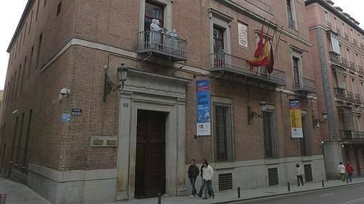 Fachada del Palacio de Cañete, en la calle mayor