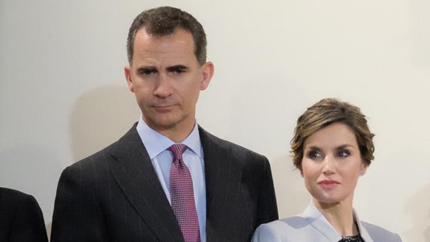 Don Felipe y Doña Letizia durante su último desplazamiento al exterior, en Puerto Rico