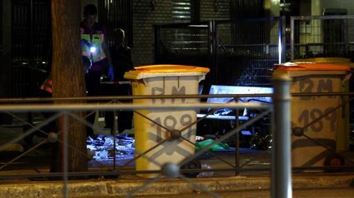 Cadáver de la mujer asesinada en Bravo Murillo