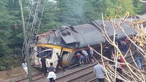Al menos cuatro muertos en un accidente de tren de pasajeros en O Porriño (Pontevedra)