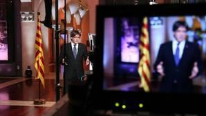 Puigdemont acusa al Estado de «desconectarse» de los catalanes en su discurso de la Diada