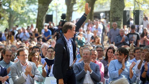 ELECCIONES EN GALICIA 2016:  Rajoy y Feijóo reúnen este sábado a más de 10.000 simpatizantes en el gran acto de campaña