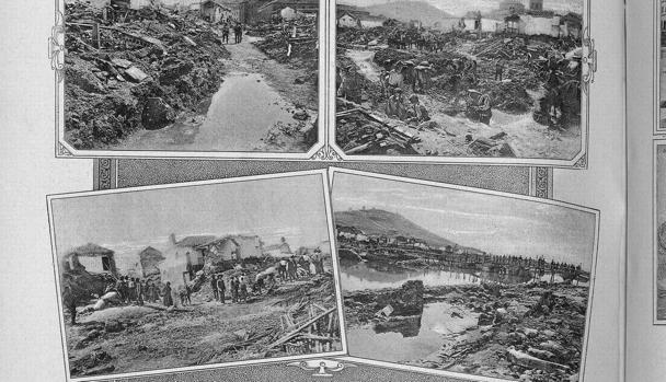 El fotógrafo toledano fue testigo directo de las inundaciones de Consuegra y sus imágenes se publicaron como grabados en la edición del 12 de octubre de 1891 del periódico semanal «La ilustración artística»