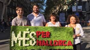 MÉS apoya las «ansias de libertad» del pueblo catalán