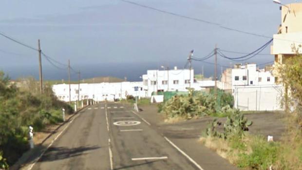 Piso Firme, Gáldar, Gran Canaria, cerca de donde se ubican los acontecimientos de 1976