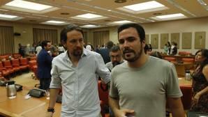 Garzón será portavoz en la comisión de Hacienda, tras la tensión vivida en Unidos Podemos
