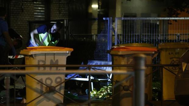 La noche del asesinato, en cadáver de la mujer en la calle de Bravo Murillo
