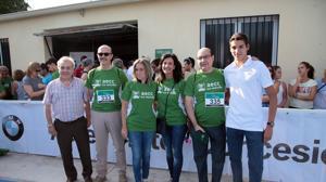 La I Carrera y Marcha Solidaria contra el cáncer, en imágenes