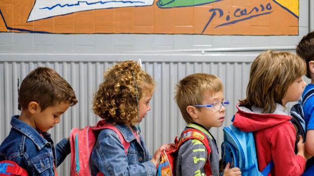 Inicio del curso escolar en el Colegio Pablo Picasso de Valladolid