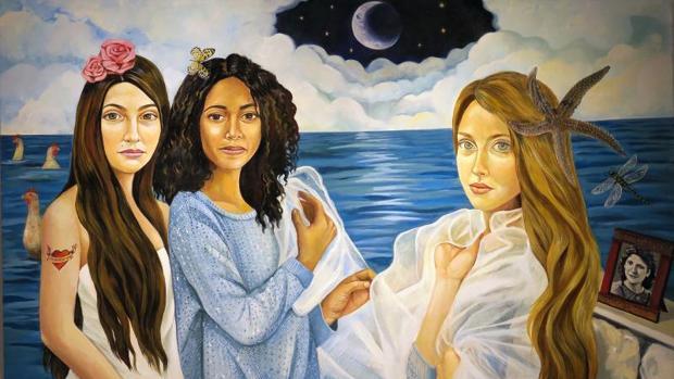 Una de las obras de la exposición «El viaje metafórico»