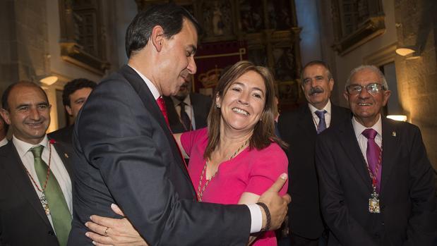 Maillo y Martín Pozo, presidente y coordinadora del PP de Zamora