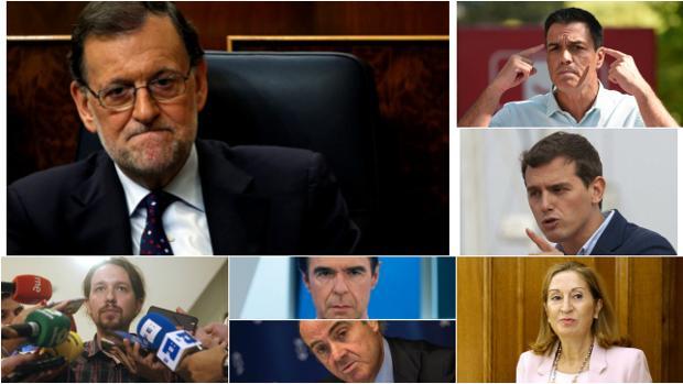 Estos serán algunos de los protagonistas políticos de la semana que comienza