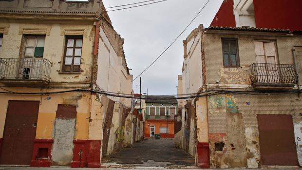 Estado actual del barrio de El Cabanyal