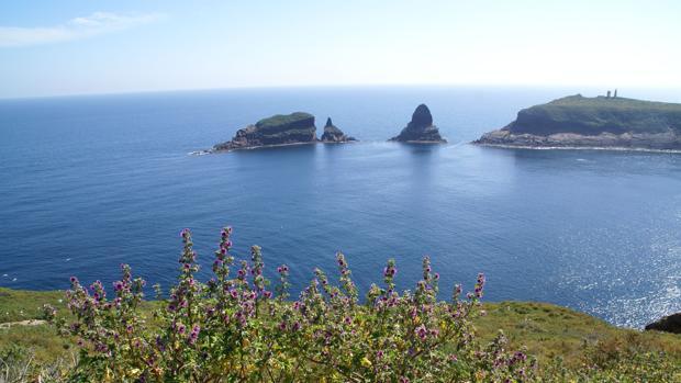 Imagen de las islas Columbretes