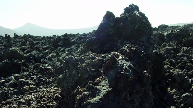 Rocas volcánicas en Lanzarote