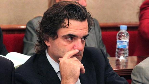El exconcejal Francisco «Kiko» Sánchez, durante un Pleno municipal