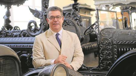 El responsable de los cementerios, José Luis Andrés