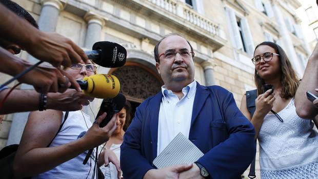Miquel Iceta presentará su candidatura este viernes