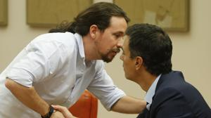 Iglesias y Sánchez volverán a negociar esta semana