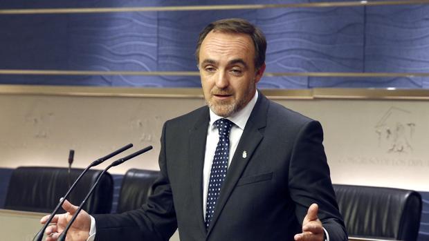 El presidente de Unión del Pueblo Navarro (UPN), Javier Esparza