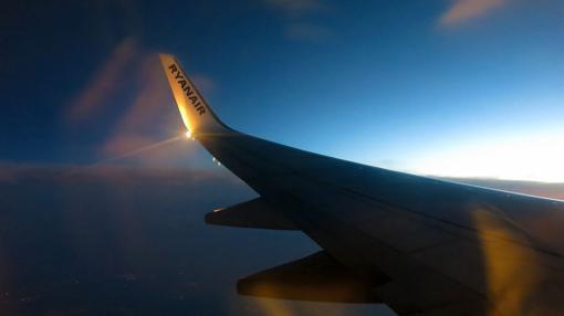 Imagen de archivo de un avión de Ryanair