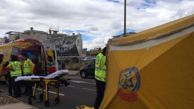 Muy grave una mujer tras ser atropellada en un paso de peatones en Moncloa