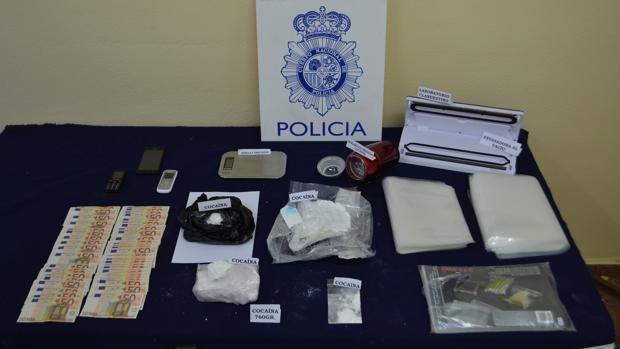 Cae un grupo criminal de distribución de cocaína que tenía tentáculos en la provincia de Toledo