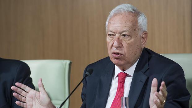 El ministro de Asuntos Exteriores en funciones, José Manuel García-Margallo
