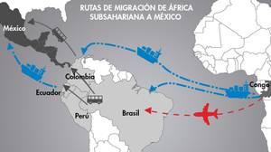 El control de la frontera marítima con Canarias lleva a los ilegales al continente americano