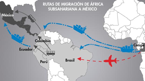Rutas de ilegales que ya no pasan por Canarias