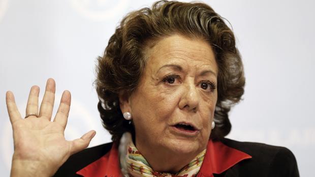 Rita Barberá, senadora y ex alcaldesa de Valencia