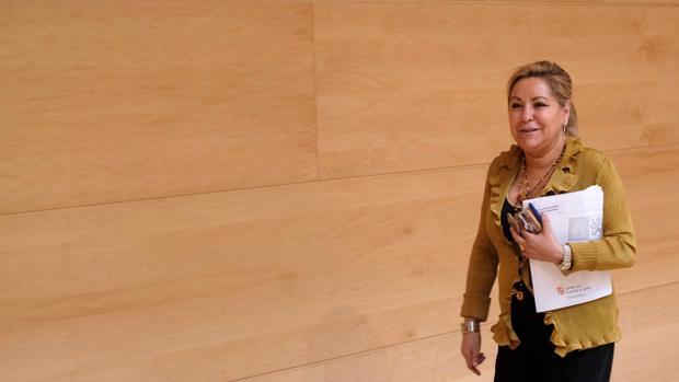 La exvicepresidenta de la Junta, Rosa Valdeón, en una imagen de archivo