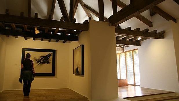 Interior del Museo de Arte Abstracto de Cuenca