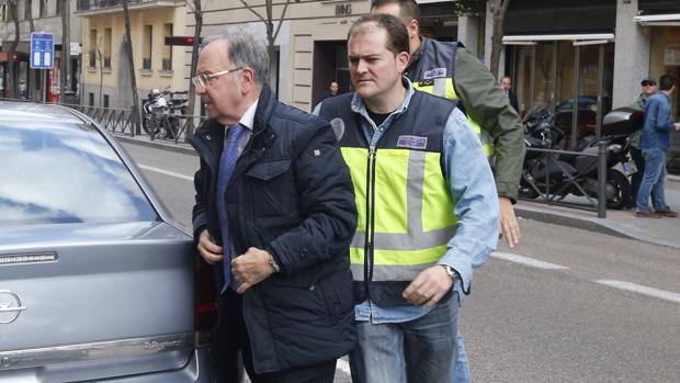 Miguel Bernad, detenido el pasado 15 de abril por agentes de la Udef