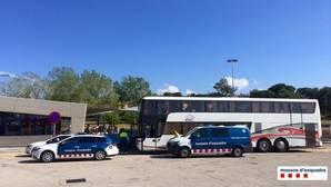 Detenido un conductor de autocar en Gerona que casi sextuplicaba la tasa alcohol permitida
