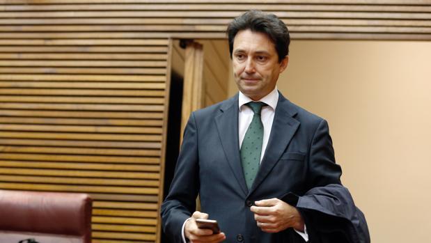 Vicente Betoret, en las Cortes