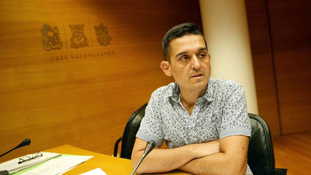 Carles Mulet, portavoz adjunto del grupo mixto y senador de Compromís
