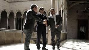 Puigdemont y Junqueras respaldan a Homs antes de que declare en el Supremo por el 9N