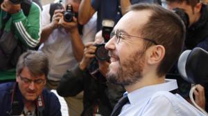Portazo de Podemos a Lambán tras regalarles la presidencia de las Cortes