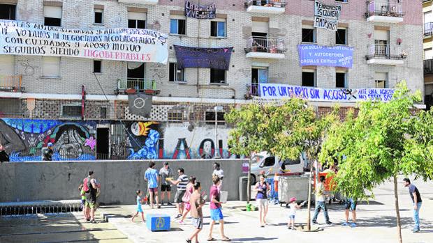 El PP lleva al pleno de Centro la adjudicación de casetas a okupas en las fiestas de la Paloma