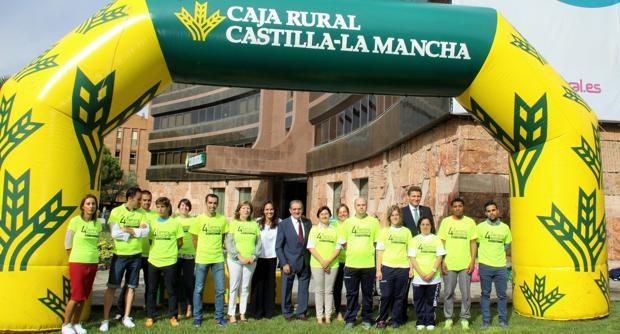 Caja Rural invita a correr la IV Carrera Solidaria a favor de Apanas Toledo