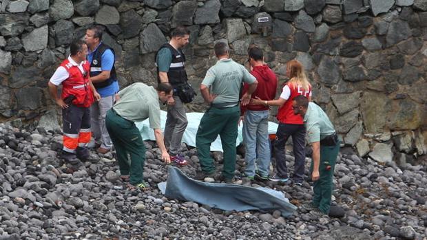 El día que encontraron el cuerpo de la víctima, el pasado mes de mayo, en Gran Canaria