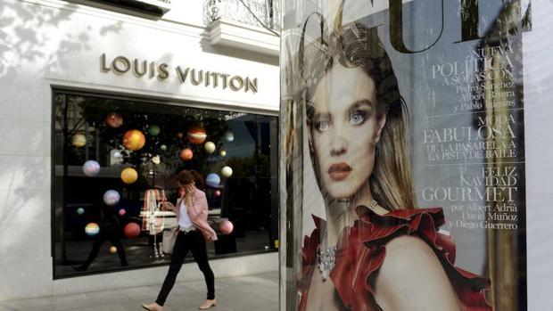 Imagen de un comercio en la calle de Serrano