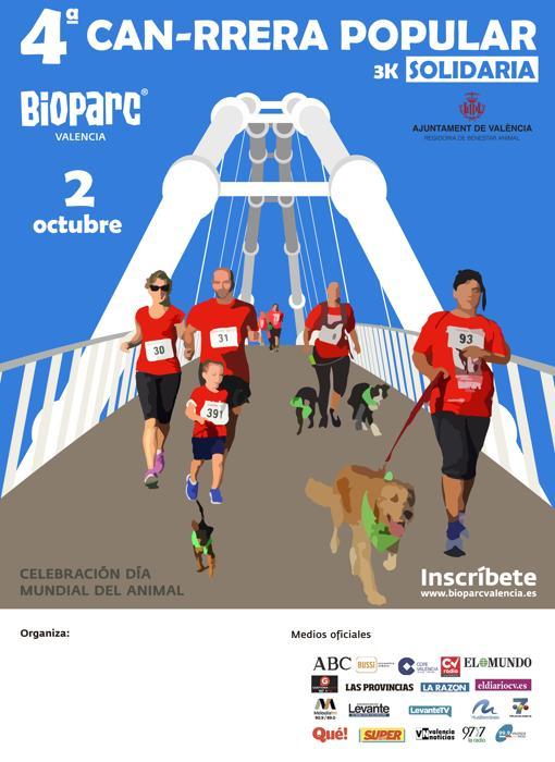 Imagen del cartel de la carrera