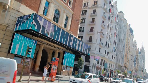 El Cine de la Prensa, ubicado en plena Gran Vía